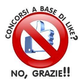Immagine del logo Concorsi a base di like? No, grazie!!