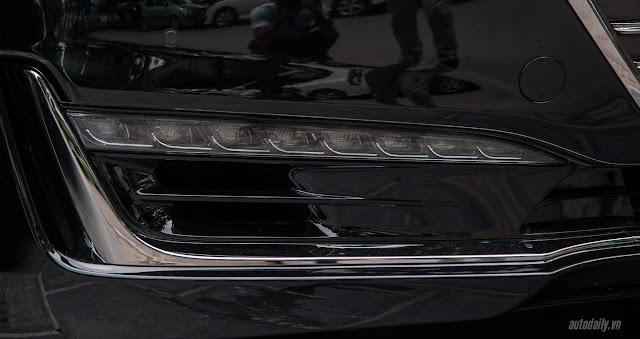 Genesis G90 Hình ảnh Hyundai Genesis G90 2016 tại Việt Nam Den pha Genesis 2BG90 2016 2017 2B 25281 2529