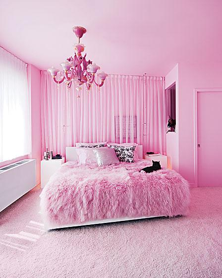 creative influences pink bedroom ideas