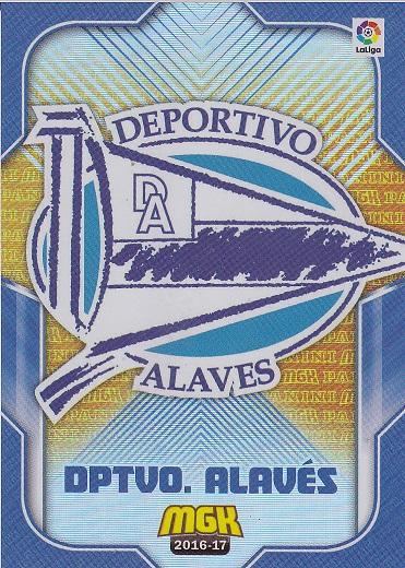 001 ESCUDO BADGE ESPANA ATHLETIC BILBAO CLUB CARD MGK LIGA 2016 PANINI