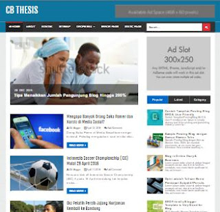 CB Thesis - Template Blog SEO Friendly