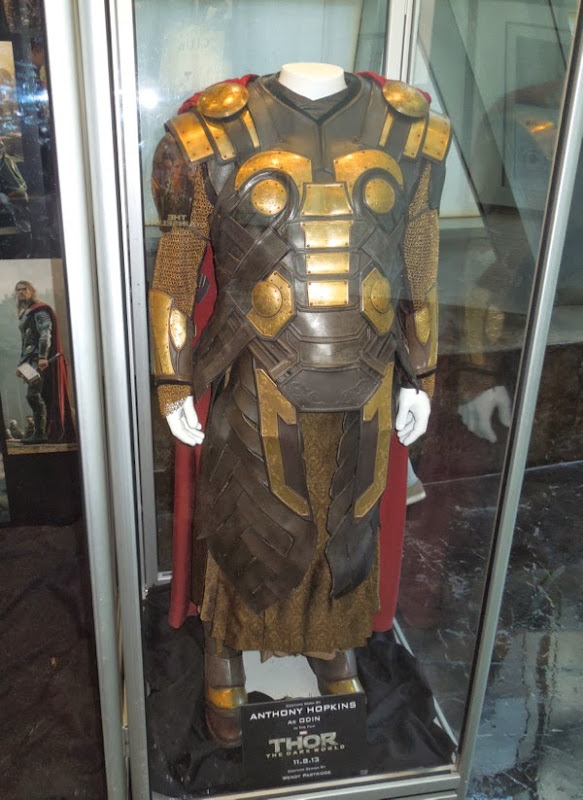 Anthony Hopkins Odin costume Thor Dark World
