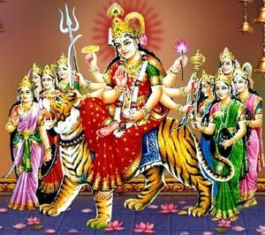 देवी माँ दुर्गा की पूजा से सभी देवता खुश maa durga all god worshipped
