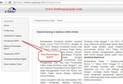 Cara Mendapatkan Jatah Nomor Faktur Pajak Online