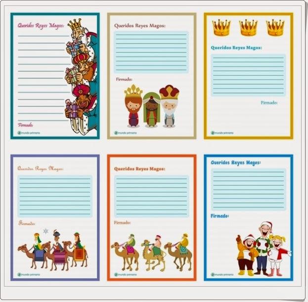 """""""Carta a los Reyes Magos"""" (Lengua Española de Primaria)"""