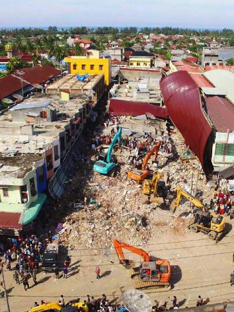 Tercengang..Kena Gempa Aceh, Kedai Kopi Legendaris Ini Tinggal Kenangan