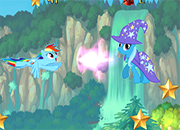 Rainbow Dash stars catcher