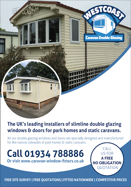 replacement static caravan double glazing windows and doors