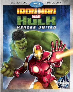 Marvel's Iron Man & Hulk: Heroes United DVD Review