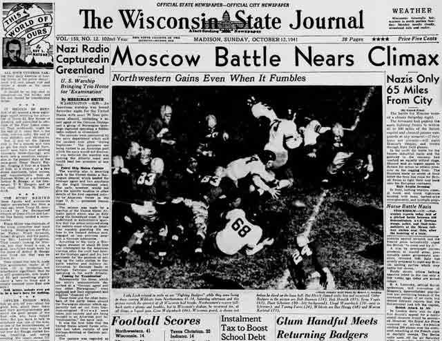 The Wisconsin State Journal for 12 October 1941 worldwartwo.filminspector.com
