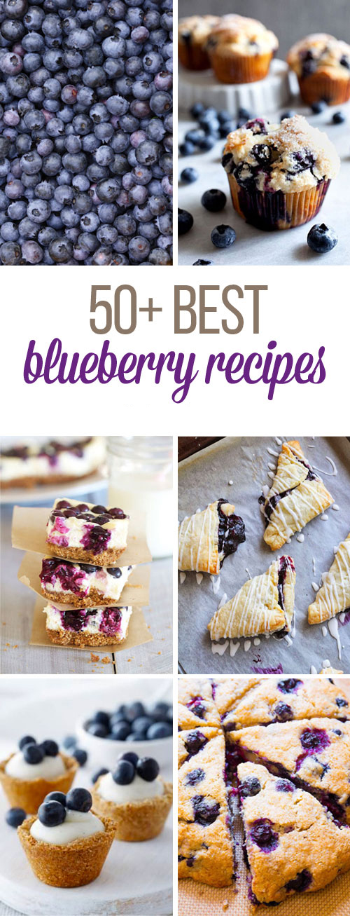 50+ Best Blueberry Recipes