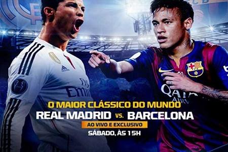 ASSISTIR REAL MADRID x BARCELONA AO VIVO 23/04/2017 - CLÁSSICO