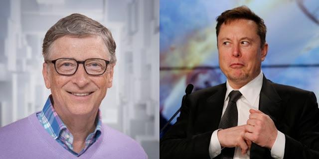 Bill Gates elektrikli bir Porsche satın aldı Tesla'nın patronu öfkeli!