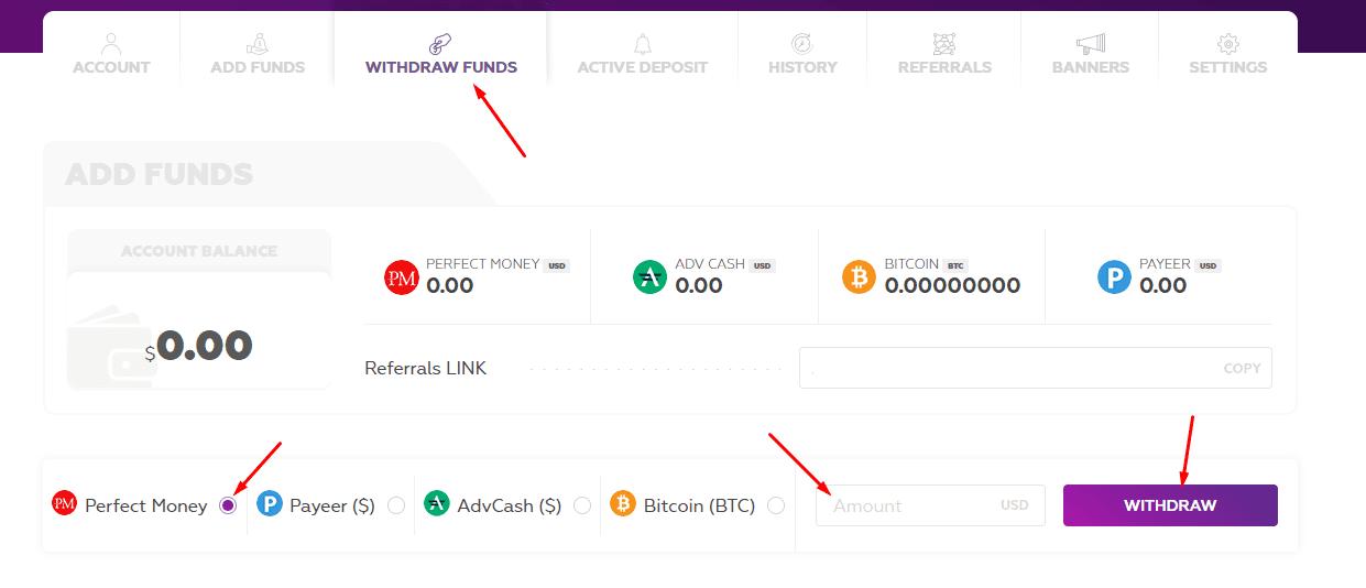 Регистрация в Bitounity 5