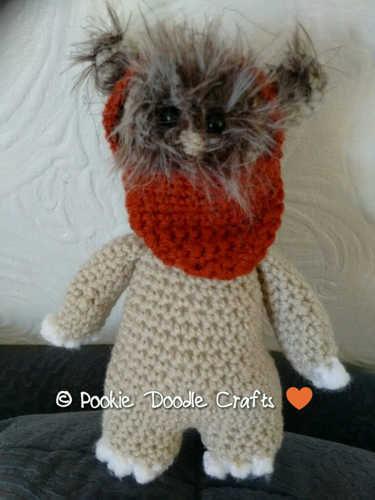 Wicket The Ewok Amigurumi Star Wars Crochet Pattern | Amigurumi ... | 1024x768