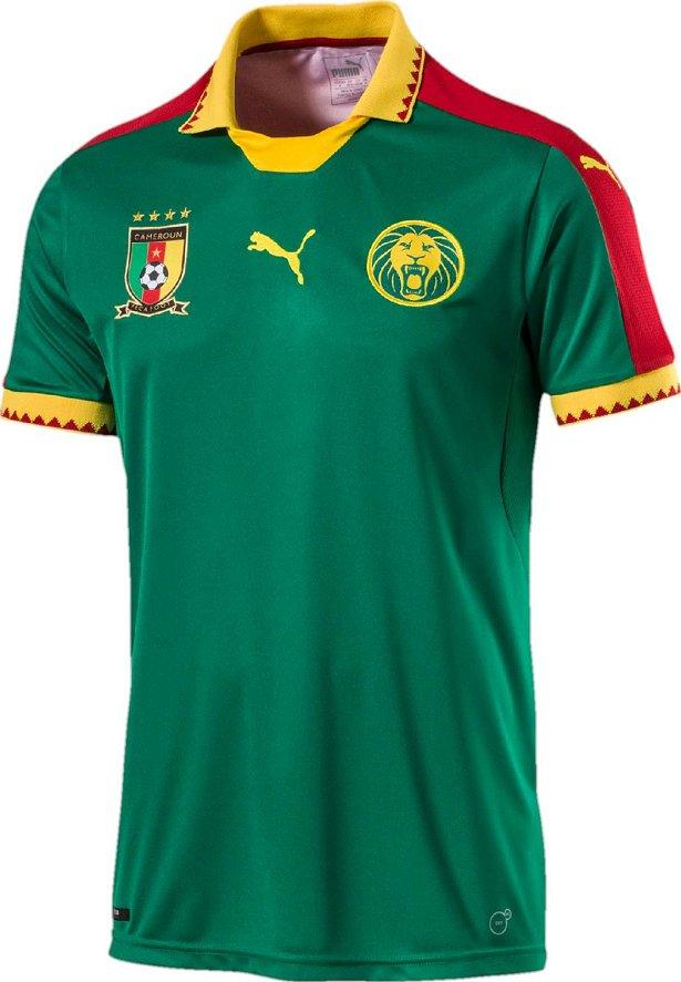 Puma divulga nova camisa titular de Camarões - Show de Camisas 736dbbef03a96