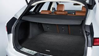 jaguar f-pace bagagliaio dimensioni litri capacità vano bagagli
