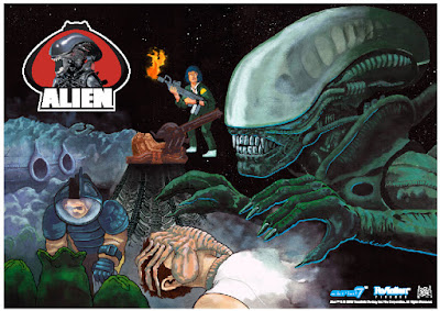 Super7 celebrates Alien Day 2016 with new Exclusive Alien Toys!