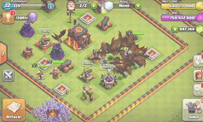 Gratis Unduh Clash Of Clans Mod FHx V8 Private Server Android Game