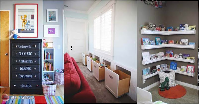 Organizing ideas for children's rooms 1