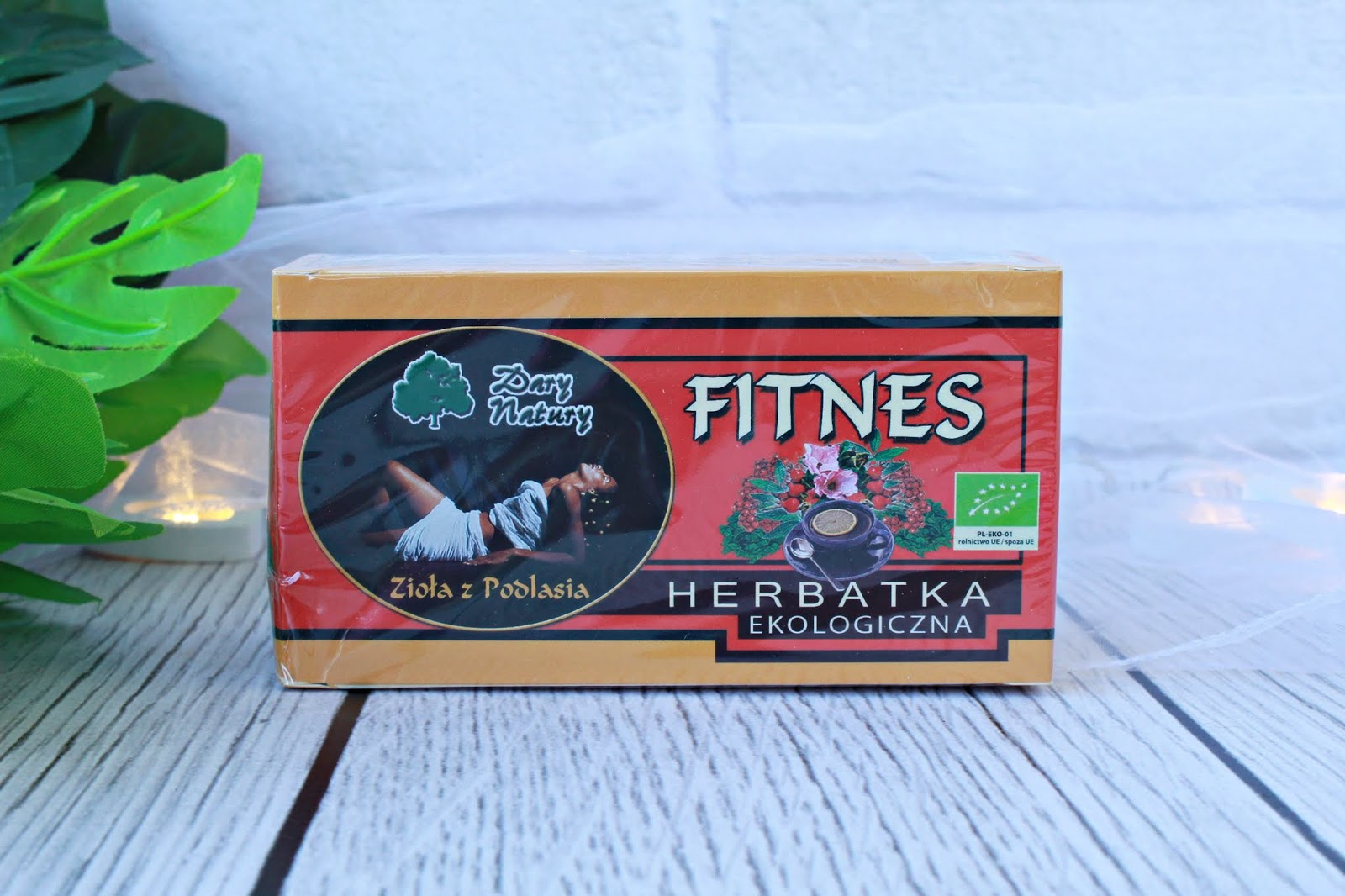 Herbatka ekologiczna dla aktywnych - Dary Natury