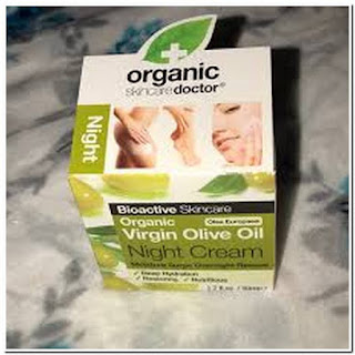 Organic skin care doctor virgin olive oil