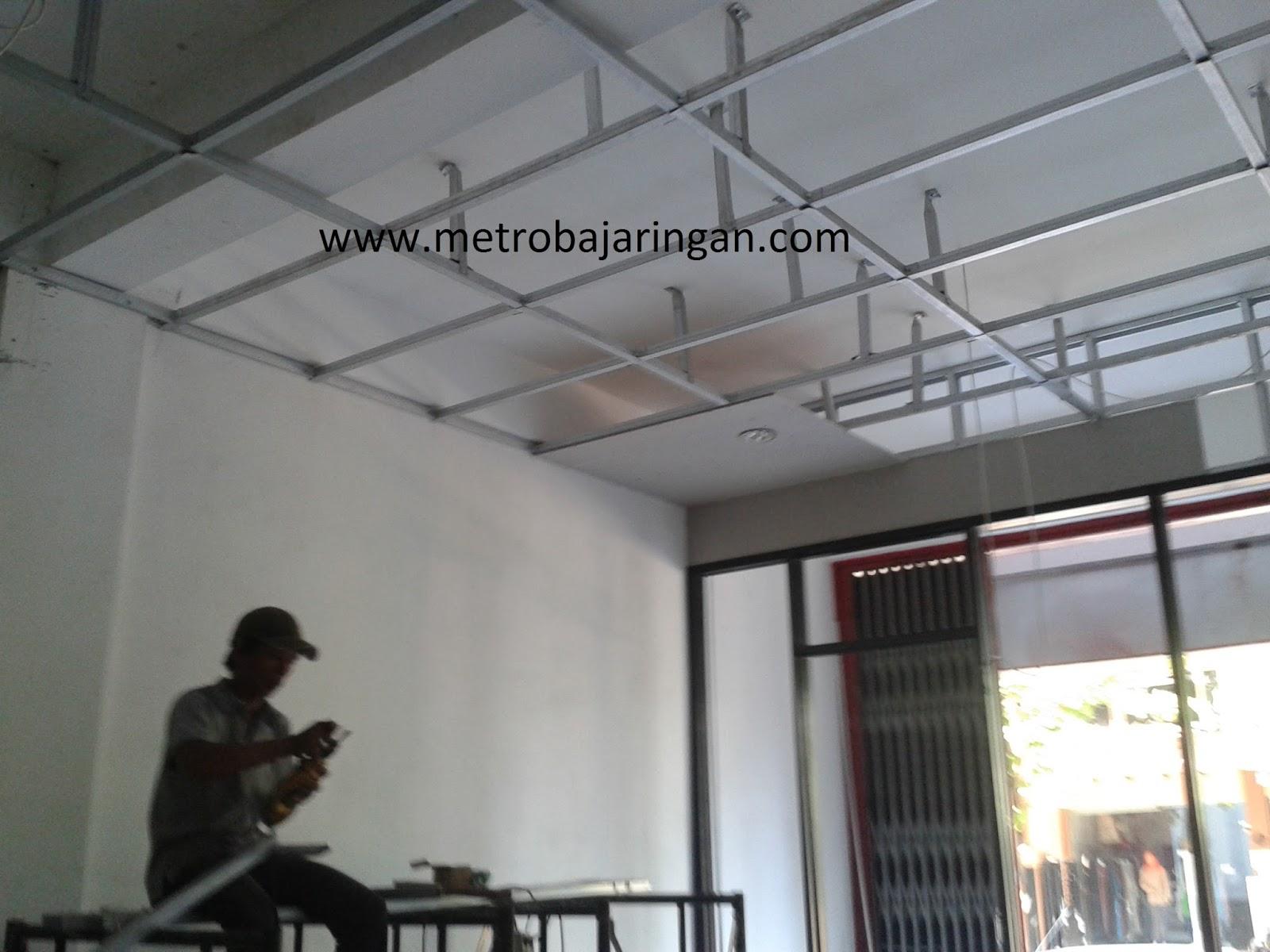 Pasang Plafon Baja Ringan Cara Hemat Memasang Anda Metro Truss Aluminium
