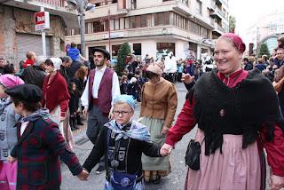 Llegada de Olentzero a Barakaldo
