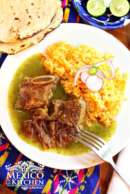 short ribs in tomatillo sauce