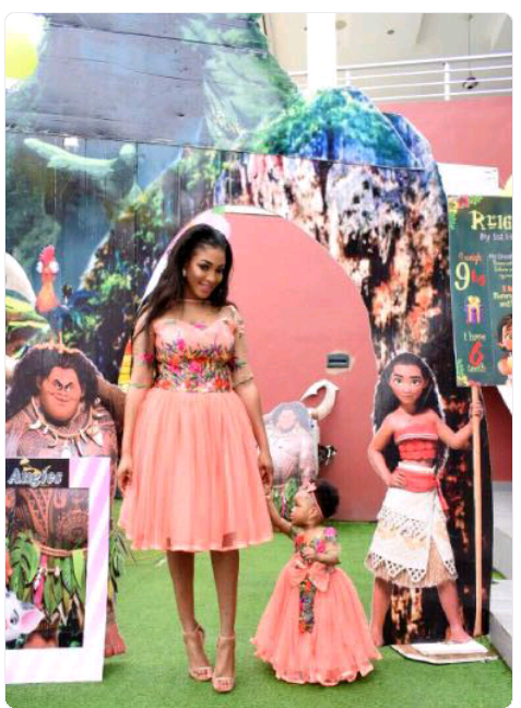 Photos from Dabota Lawson's daughter's Ist birthday party