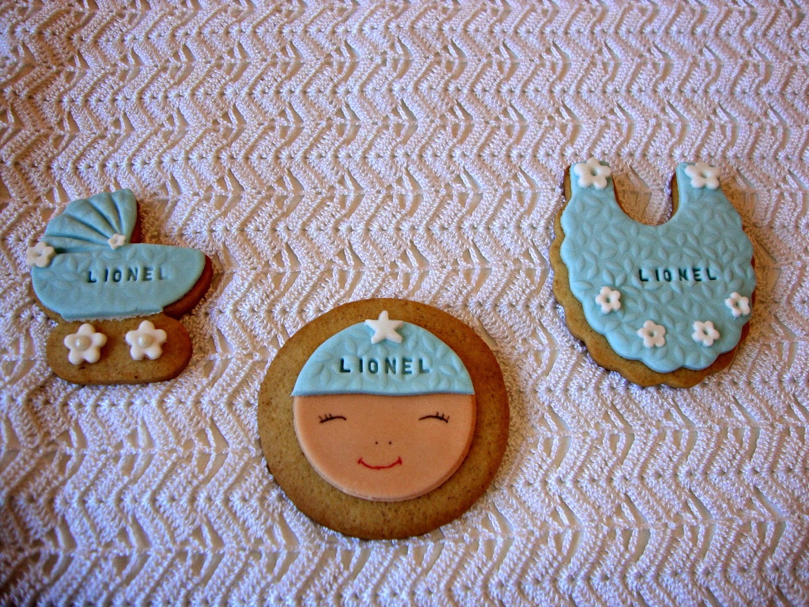 Galletas fiesta baby shower
