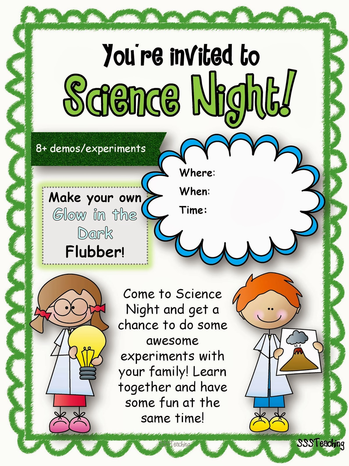 Ultimate Family Science Night Sssteaching