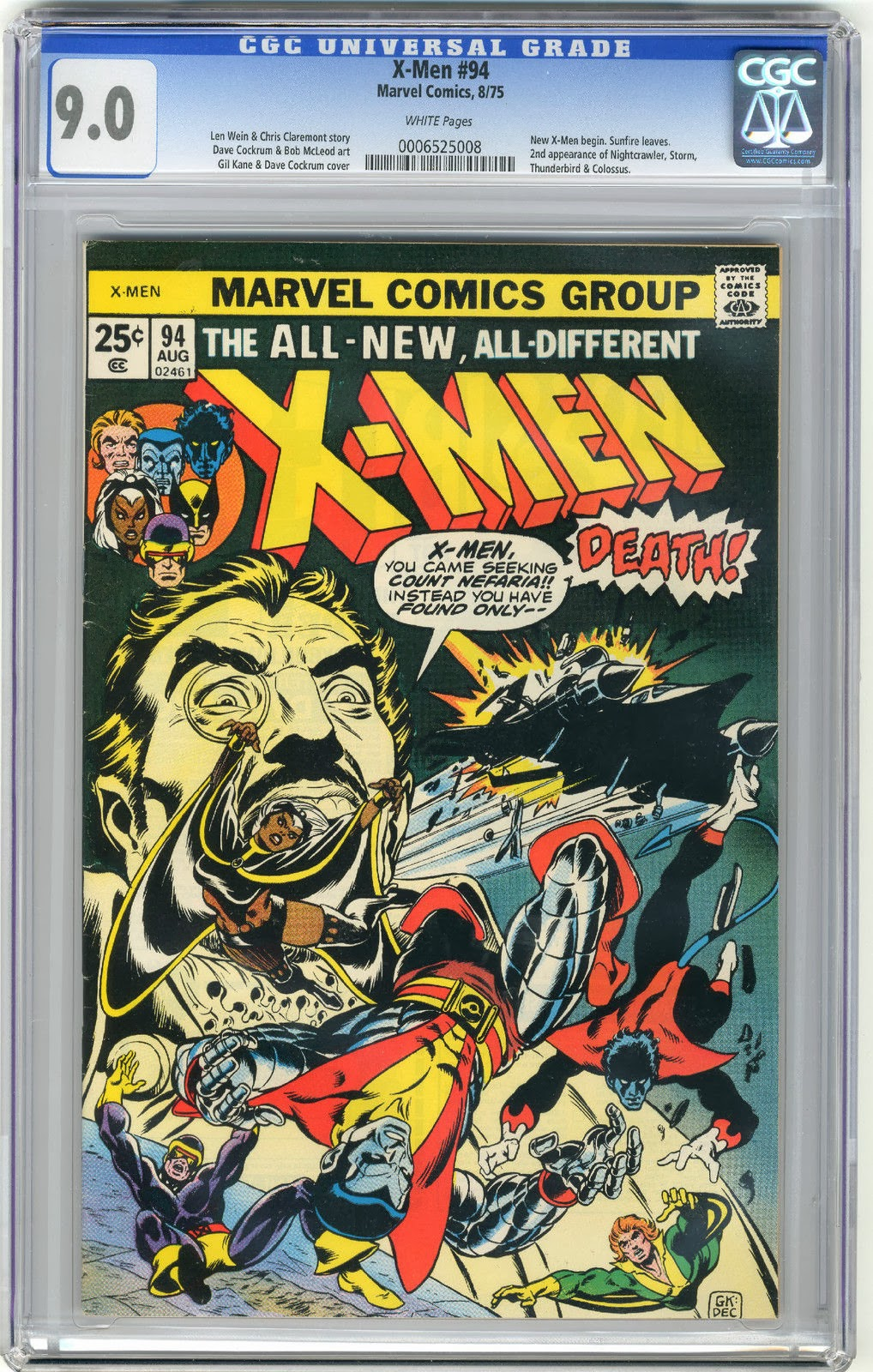 http://www.totalcomicmayhem.com/2014/03/color-of-pages-concerning-graded-comics.html