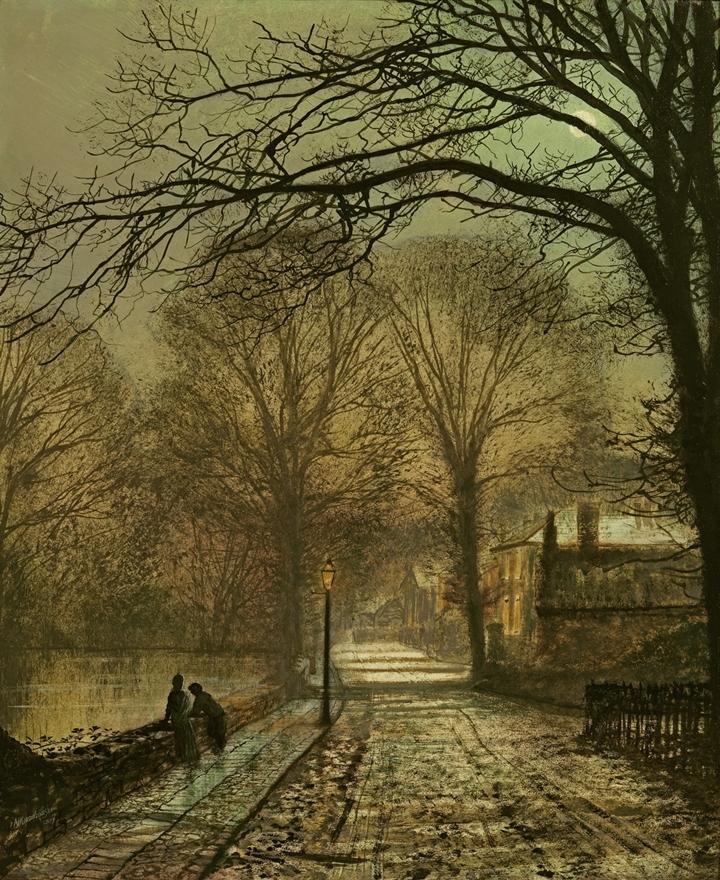Atkinson Grimshaw 1836-1893 ~ British Victorian-era painter - Tutt'Art@