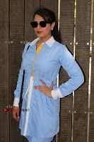 Richa Chadda Latest Pos in Blue Short Dress at the Screening Of Short Film Khoon Aali Chithi  0021.jpg