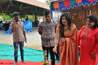 Sakshi Agarwal  in Orange Saree at Inauguration of Handloom And Handicraft exhibition ~  Exclusive 19.JPG