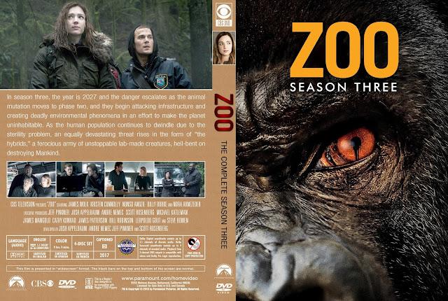 Zoo Season 3 DVD Cover
