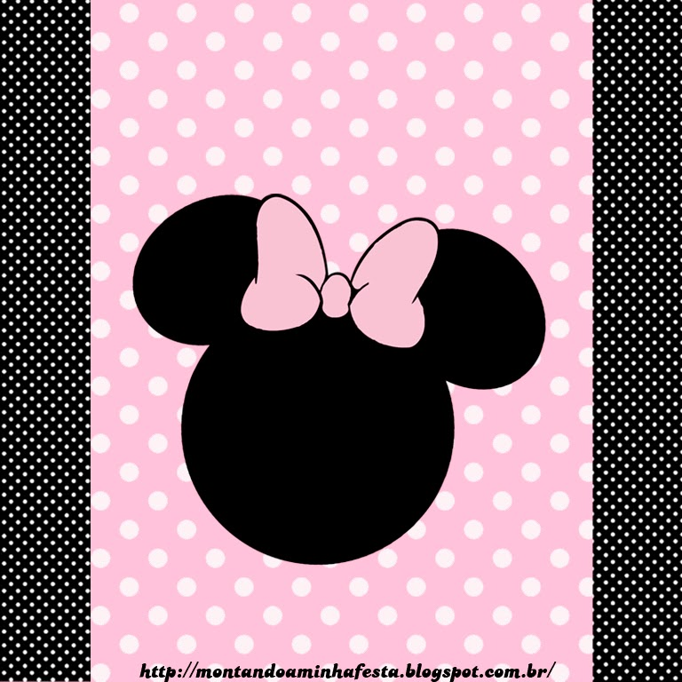 Etiqueta de Minnie para Chocolates.