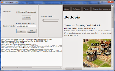 SEO Software Quickbacklinks V 2.2b