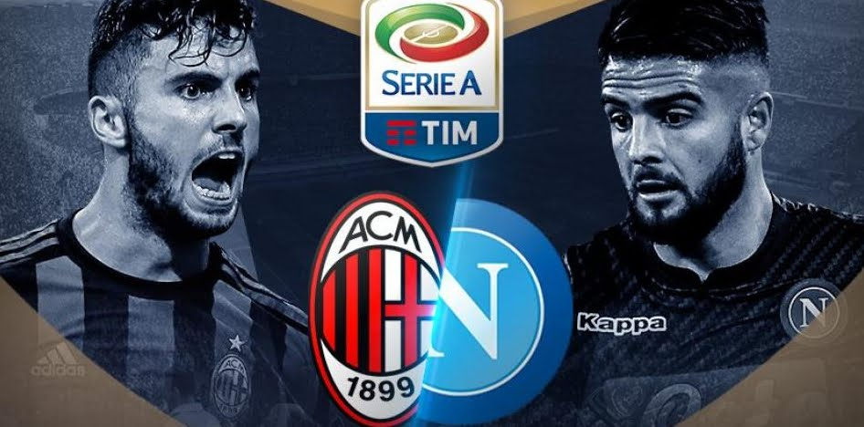 Dove vedere Milan-Napoli streaming senza Rojadirecta Gratis Video Online Oggi