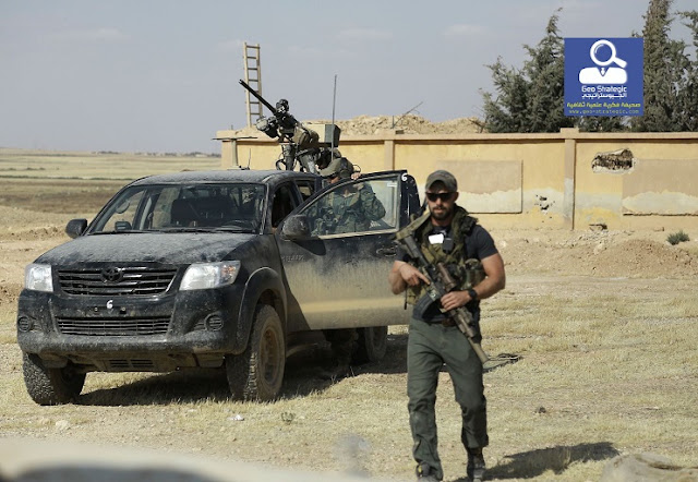 الولايات المتحدة تقول 2000 جندي في سوريا، بزيادة أربعة أضعاف؟