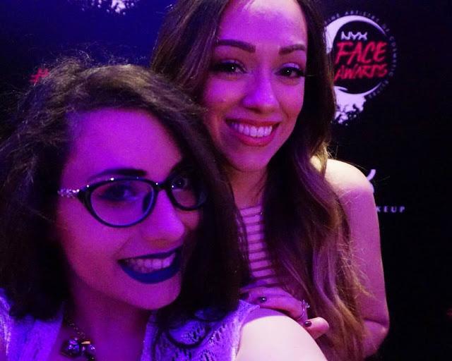 Fiesta con Rosy McMichael nyx face awards