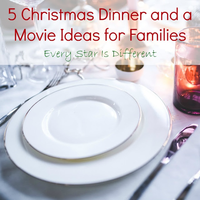 5 Christmas Dinner and a Movie Ideas for Families