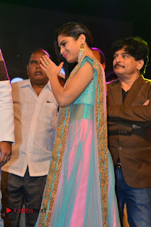 Actress Naina Ganguly Stills in Long Dress at Vangaveeti Audio Launch  0033.JPG