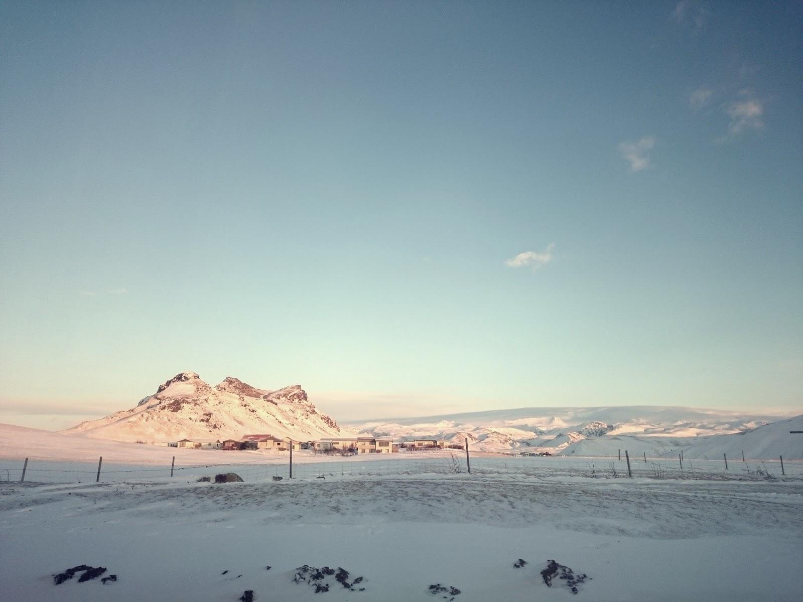 Islandzka zima, Islandia, Iceland, blog o Islandii, zima, panidorcia, Pani Dorcia, blog, islandzki krajobraz