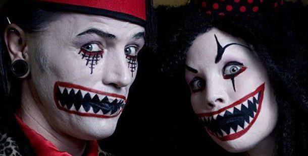 10 Pasangan Menyeramkan - Ide Kostum Halloween