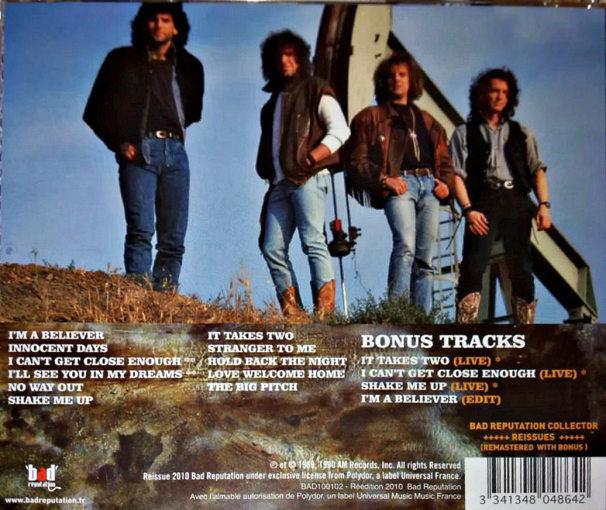 GIANT - Last Of The Runaways [Bad Reputation remaster +4 bonus tracks] back