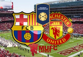 Data dan Fakta Barcelona vs Manchester United