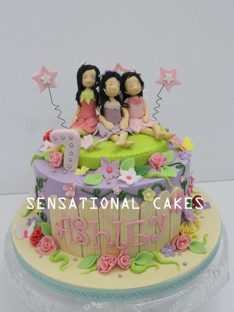 The Sensational Cakes: 3 SISTERS FAIRY THEME 3D CAKE SINGAPORE ... on baby ladybug cake, diy ladybug cake, christmas ladybug cake, green ladybug cake,