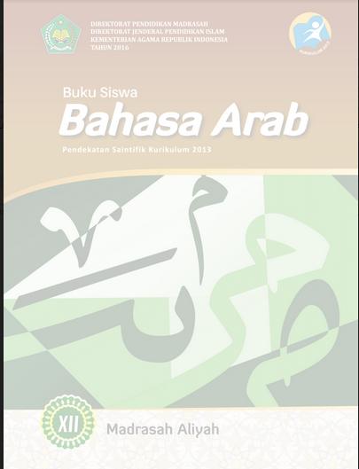 Buku Bahasa Arab Pegangan Siswa Kelas XII Kurtilas